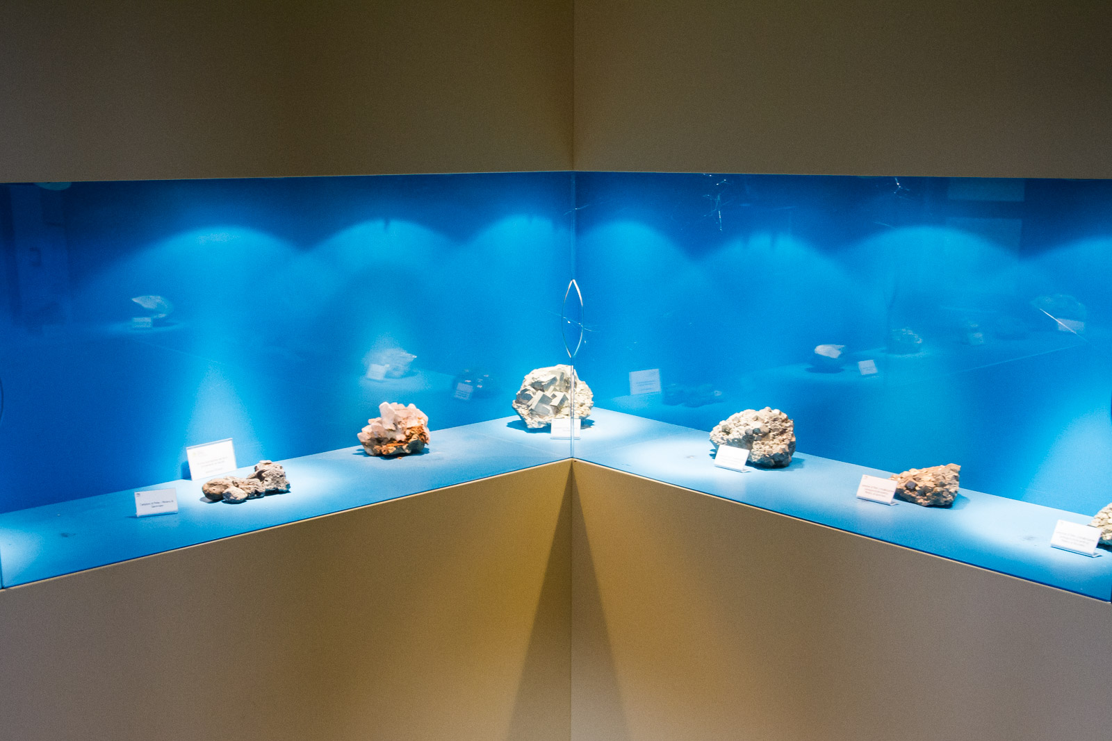 The museum contains a mineral collection that is on display and are examples of the minerals found undergraound in the area.