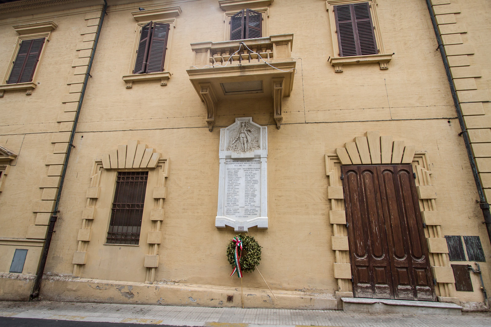 The centre of Scarlino village has plenty of reminders of history.