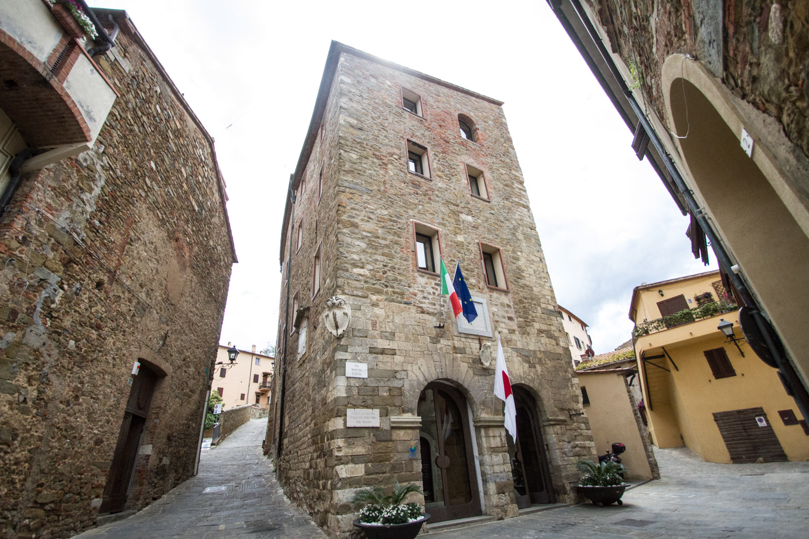 The commune of Scarlino.