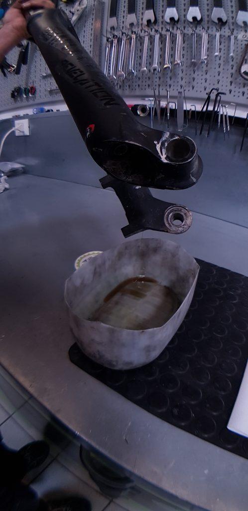 Olio di lubrificazione degli steli