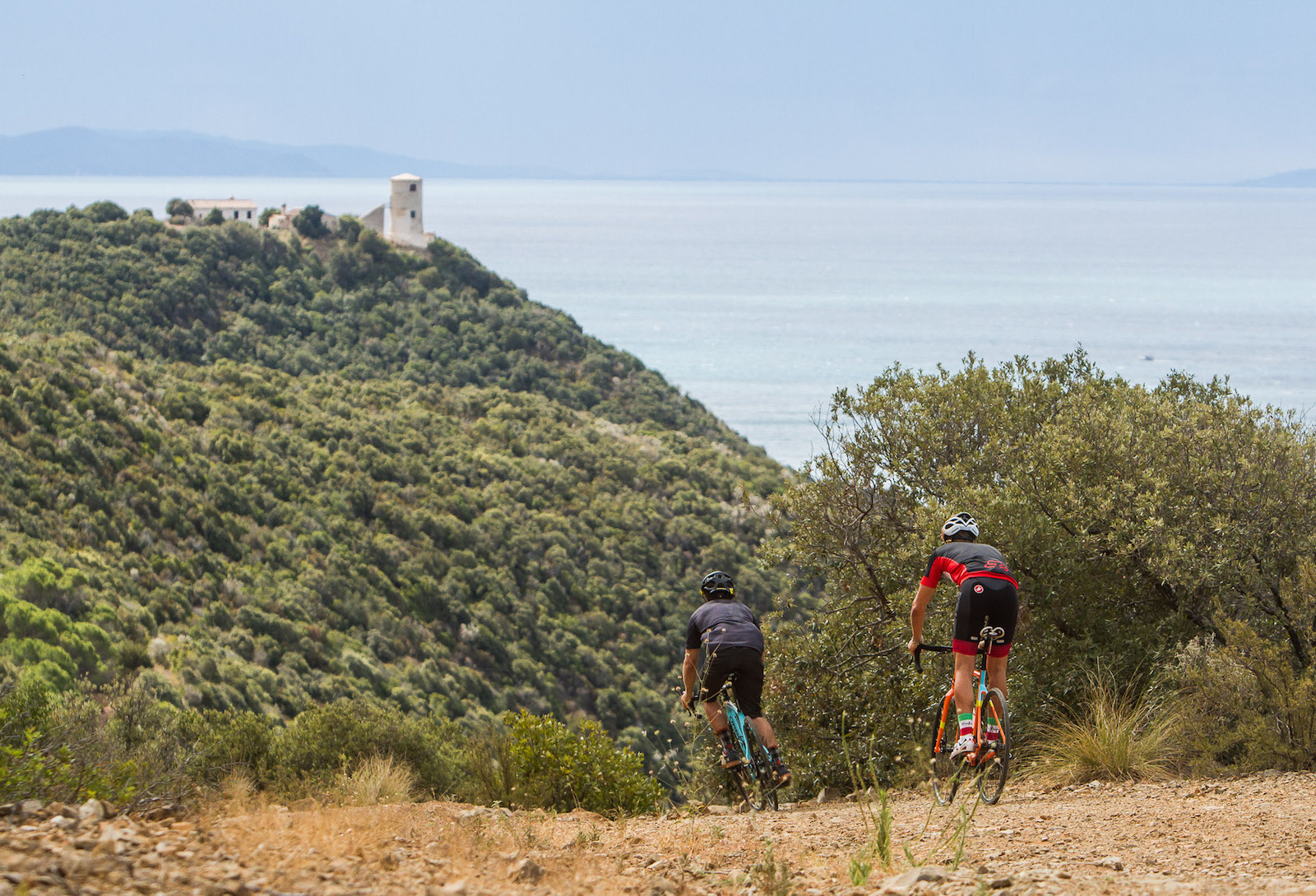 From coastline to countryside, the Gravel Road Challenge route takes in the best of Tuscany.