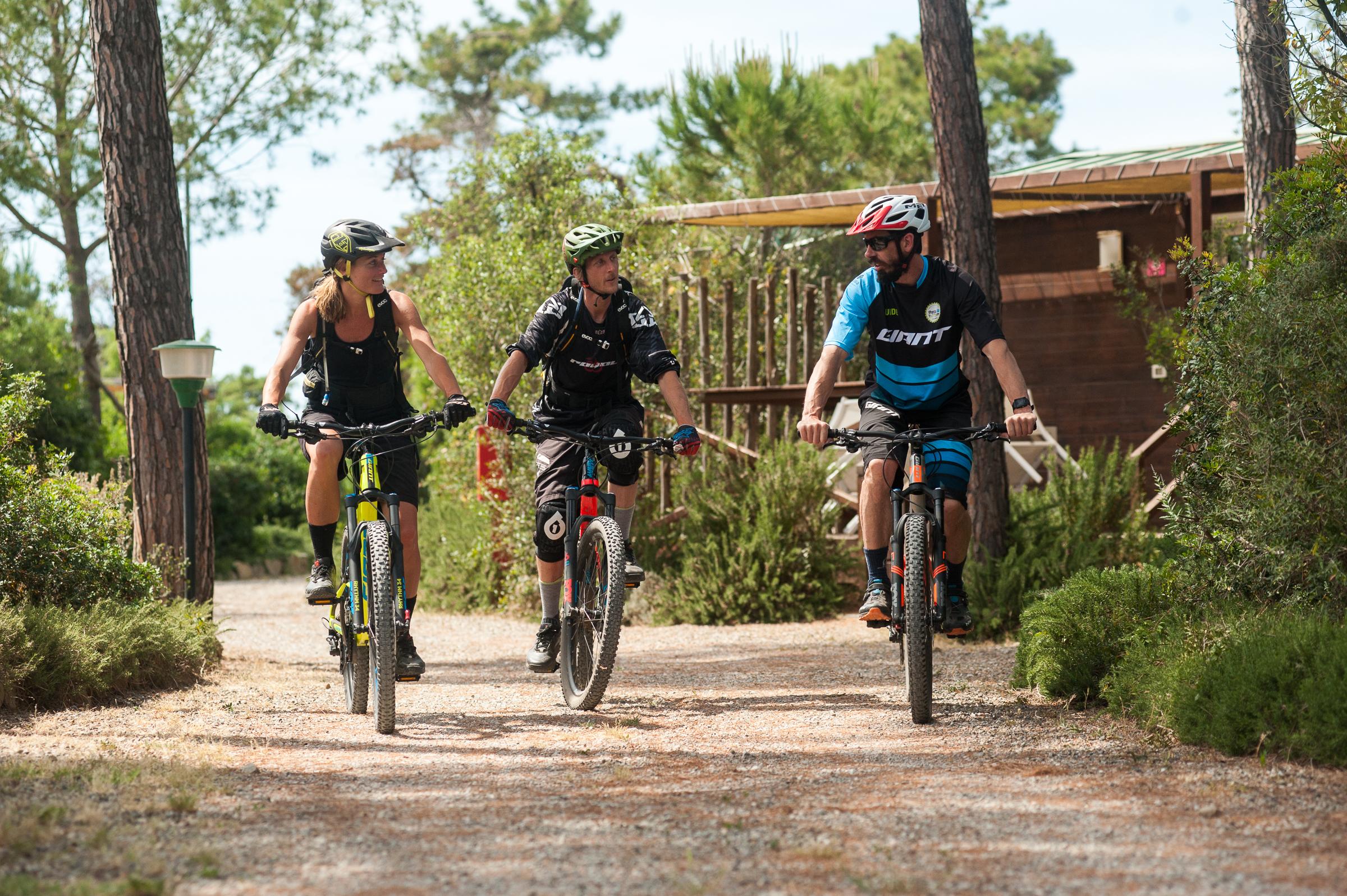 Mountain biking Punta Ala Italy